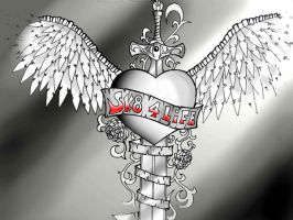 Heart Sword Winged by pepe12crt