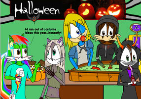 Haz's Halloween Party by UltimateEbil