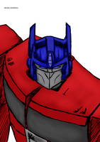 Optimus Prime - War Of Cybertron by Michael-McDonnell