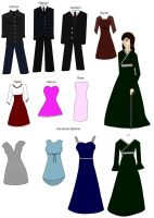 Chapter 9 outfits by alicesapphriehail