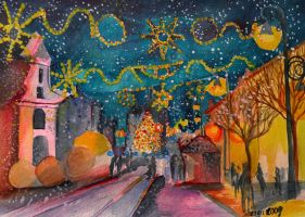 Christmas in Kosice by zzen