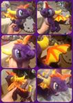 ( Spyro the Dragon ) StarMassacre Supairo Plushie by KrazyKari