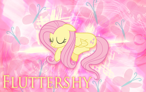 Fluttershy Kindness Wallpaper by MLArtSpecter