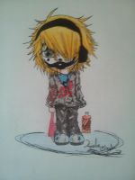 Juggalo Chibi by amulet-shadow