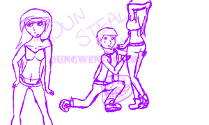 WIP I can't choose which to do by DunGwenfangirl