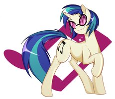 That One DJ Pony by art-of-aa