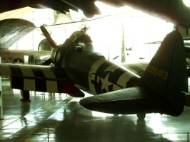 P-47D from behind by SindreAHN