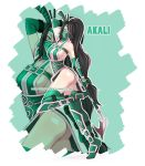 LoL Girls - Akali by Rush--it