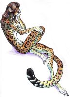 Woxylot: Colored Ocelot by Iggi-Ink