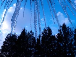 Icicles 2 by Dracoart-Stock
