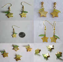 KH Earrings - Paopu Fruit by TuneinAnytime
