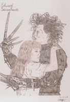 Edward Scissorhands by Albertinez