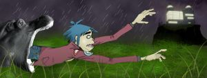 why 2d doesnt get out much by Zink10