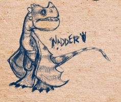 HTTYD: Baby Deadly Nadder by Crownflame