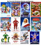 My Favorite Christmas Movies and Specials by darthraner83