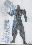 Sub-Zero Concept Art (Mortal Kombat: Deception) by Obi-Waton