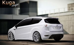 Kuga Coupe concept by Letyi