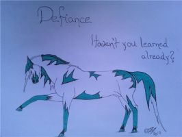 Defiance by obsidianhart