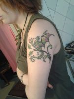My tattoo by Mynthons
