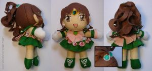 PGSM Sailor Jupiter Plushie by sakkysa