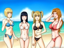 Anime Crossover Beach Special1 by grandchaosSR