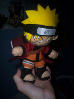 Sage Naruto plush :Another pic by goiku
