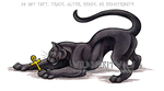 Black Panther And Ankh Commish by WildSpiritWolf