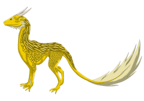 Golden King - Colered by Smaraktwolf