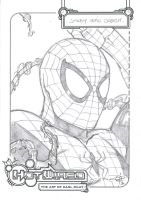 FREE Spidey Sketch by Carl-Riley-Art