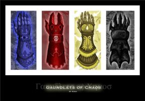Gauntlet of Chaos by The-Great-Kubo