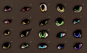 eye sheet (pick one?) by Toesies