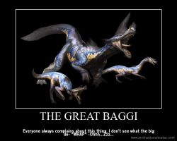 Monster Hunter Motivational: The Great Baggi by teambrownie1