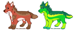 Canine Adoptables: CLOSED by Metals-Adopts
