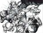 krillin and piccolo vs. nappa by trunks24