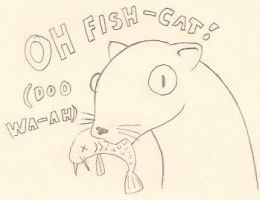 FISH CAT by CarrieExMachina
