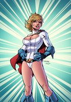 PowerGirl by J-Skipper