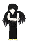 Crow boy adoptable closed by MaskeeAdoptables