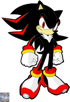 Shadow The Hedghog by pokekid333