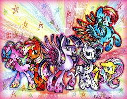Rainbow Power by frostykat13