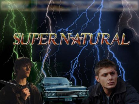 Supernatrual Wallpaper 1 by WickedMuse