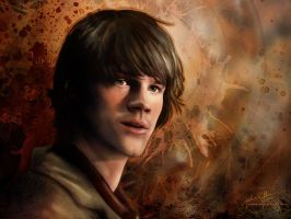 Sam Winchester - 1024x768 by jackieocean