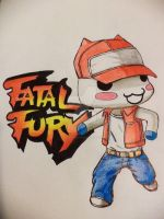 Terry Bogard Toro by 0LadyInRed0