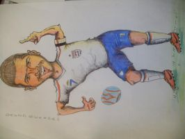 cartoon football player 3 by davo132