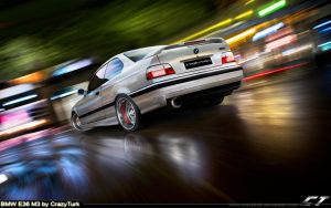 BMW E36 M3 by CrazyTurk