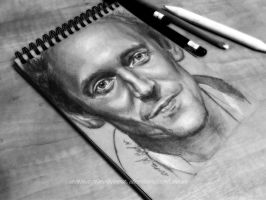 tom hiddleston drawing by AnnaZinovieva