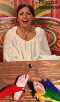 Davina in the Diary Room by DeadpoolDisassembled