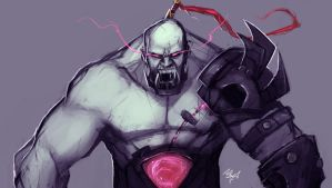Sion the Undead Juggernaut by Aths-Art