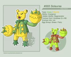 #003 - Solaursa by grimarionette