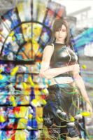 Tifa: At the Church by silverlife