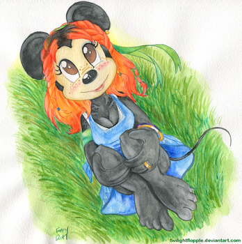 Mouse in the Field by TwilightFlopple